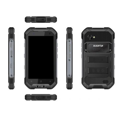 Aligator RX550 eXtremo Dual SIM černý + dárky (ARX550BB)