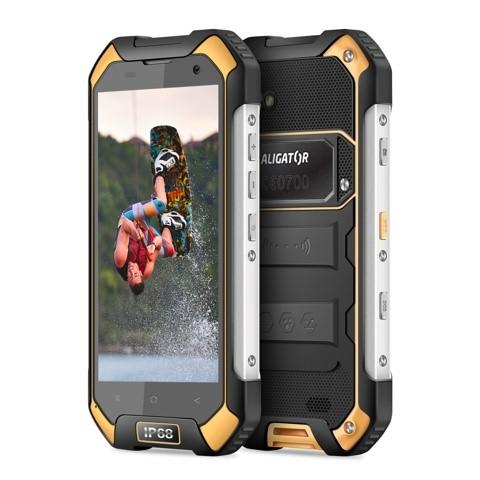 Aligator RX550 eXtremo Dual SIM černý/žlutý + dárek (ARX550BY)