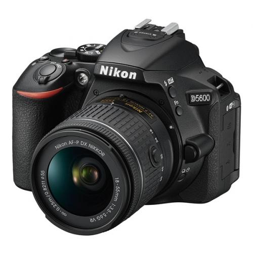 Digitální fotoaparát Nikon D5600 + 18-55 AF-P VR černý