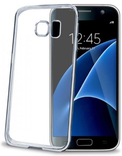 Celly Laser pro Samsung Galaxy S7 stříbrný