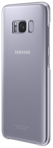 Samsung Clear Cover pro Galaxy S8 - violet