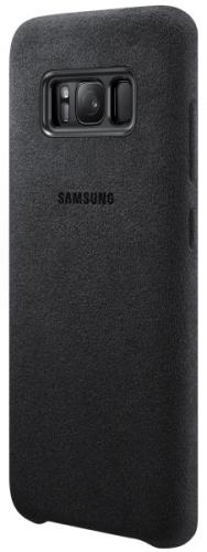 Samsung Alcantara pro Galaxy S8 - dark grey šedý