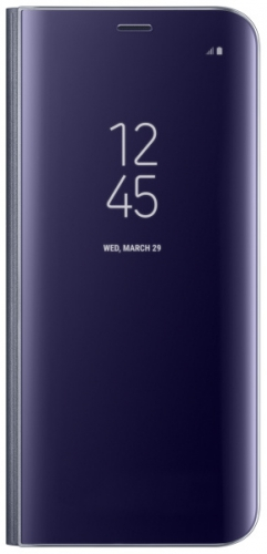 Samsung Clear View pro Galaxy S8+ - orchidgrey fialové