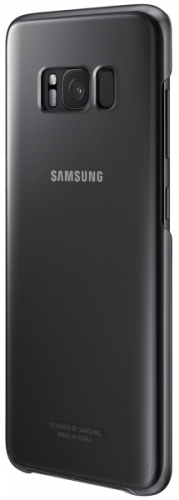 Samsung Clear Cover pro Galaxy S8+ černý
