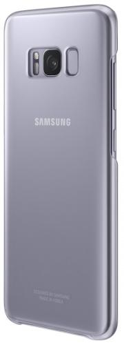 Samsung Clear Cover pro Galaxy S8+ šedý