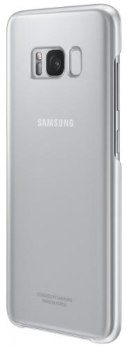 Samsung Clear Cover pro Galaxy S8+ stříbrný