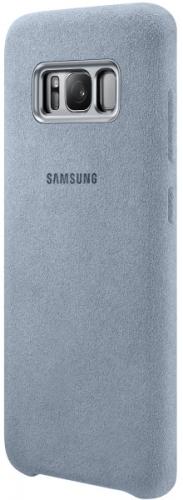 Samsung Alcantara pro Galaxy S8+ (EF-XG955A) tyrkysový