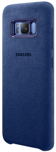 Samsung Alcantara pro Galaxy S8+ (EF-XG955A) modrý