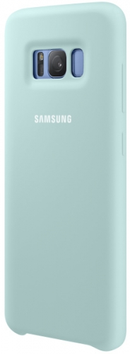 Samsung Silicon Cover pro Galaxy S8+ (EF-PG955T) modrý