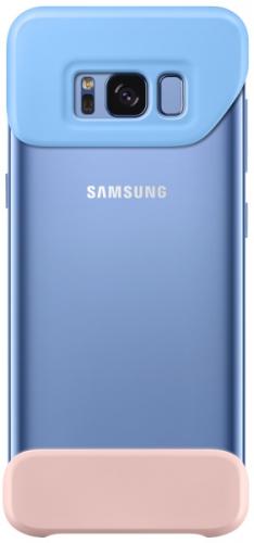 Samsung 2 dílný pro Galaxy S8+ (EF-MG955C) modrý/růžový (EF-MG955CLEGWW)