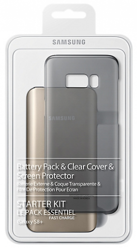 Samsung Clear Cover + Baterry Pack pro Galaxy S8+