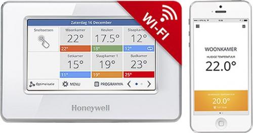 Honeywell EvoTouch Wi-Fi, Cz lokalizace