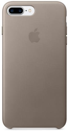 Kryt na mobil Apple Leather Case pro iPhone 8 Plus / 7 Plus  - kouřový