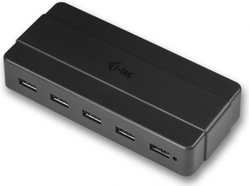 i-tec USB 2.0 / 7x USB 3.0 černý