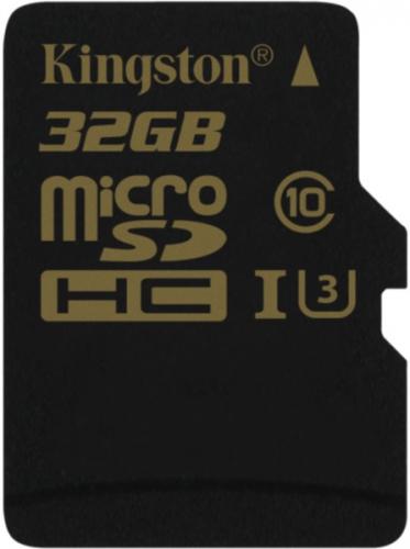 Kingston MicroSDHC 32GB UHS-I U3 (90R/45W) černá