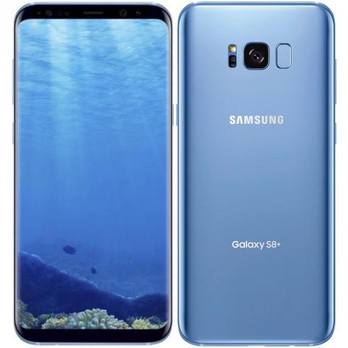 Mobilní telefon Samsung Galaxy S8+ - Blue + dárek