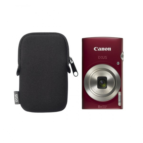 Canon IXUS 185 + orig.pouzdro červený (1809C010)