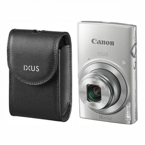 Fotografie Canon IXUS 190 + orig.pouzdro stříbrný (1797C010)
