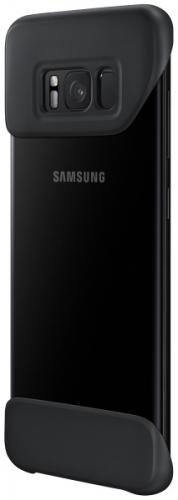Fotografie Samsung 2Piece Cover pro S8+ (G955) Black-Black
