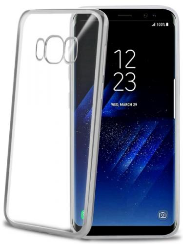 Celly Laser pro Samsung Galaxy S8+ stříbrný (LASER691SV)