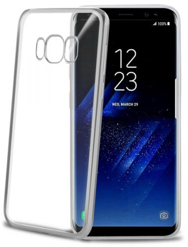 Celly Laser pro Samsung Galaxy S8 stříbrný