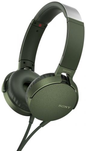 Sony MDR-XB550AP Extra Bass™ zelená
