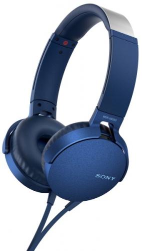Sony MDR-XB550AP Extra Bass™ modrá