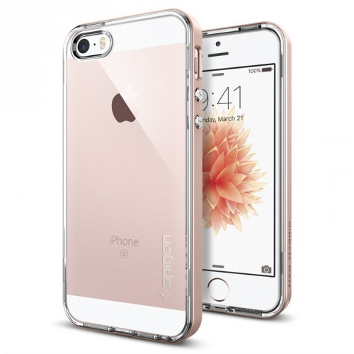 Spigen Neo Hybrid Apple iPhone 5/5s/SE - rose gold