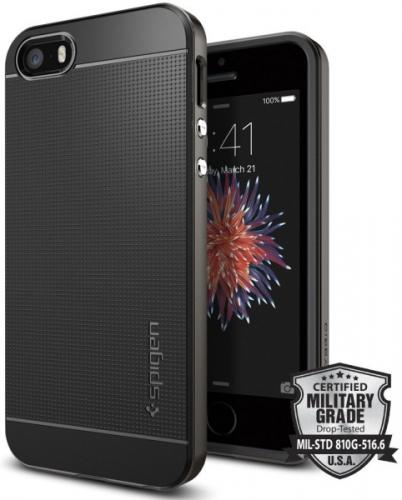 Spigen Apple iPhone 5/5s/SE - gunmetal