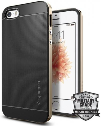 Spigen Neo Hybrid pro Apple iPhone 5/5s/SE - champagne gold