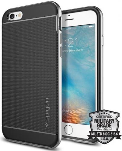 Spigen Neo Hybrid Apple iPhone 6/6s stříbrný
