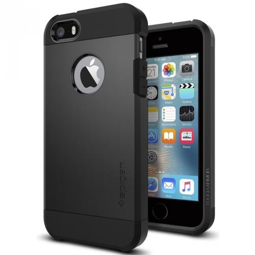 Spigen Tough Armor Apple iPhone 5/5s/SE černý (041CS20189)