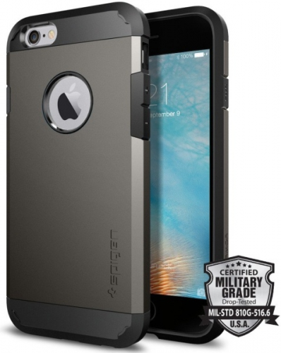 Fotografie Spigen Apple iPhone 6/6s - gunmetal