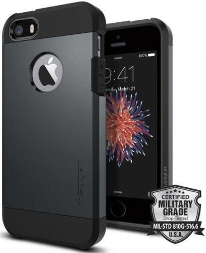 Spigen Apple iPhone 5/5s/SE - metal slate