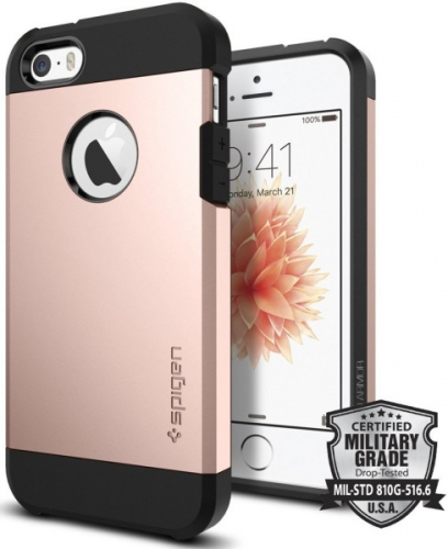 Spigen Tough Armor Apple iPhone 5/5s/SE - rose gold