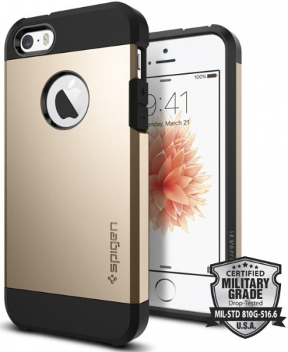 Spigen Tough Armor Apple iPhone 5/5s/SE - champagne gold