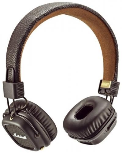 Marshall Major II Bluetooth hnědá