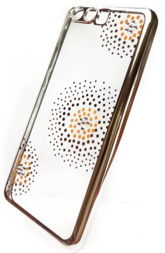 Beeyo Flower Dots pro Huawei P10 stříbrný
