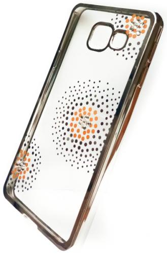 Beeyo Flower Dots pro Samsung Galaxy A3 (2016) stříbrný (BEASAGAA32016TPUFLSI)