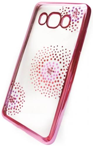Beeyo Flower Dots pro Samsung Galaxy J5 (2016) růžový (BEASAGAJ52016TPUFLPI)