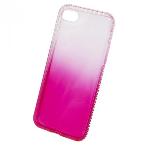 Beeyo Diamond Frame pro Apple iPhone 8/7 růžový