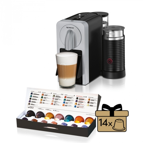 DeLonghi Nespresso Prodigio EN270.SAE černé/stříbrné