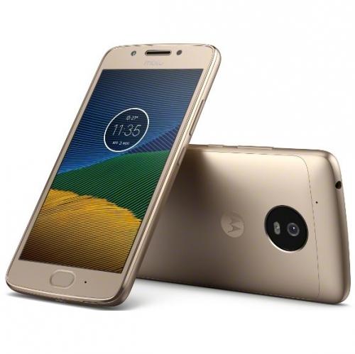 Lenovo Motorola G 5.generace Dual SIM zlatý + dárek