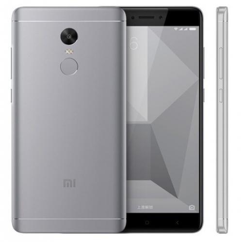 Xiaomi Redmi Note 4X Dual SIM 32 GB šedý