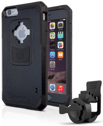 Rokform na kolo pro Apple iPhone 6/6s + pouzdro černý