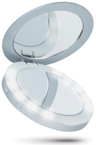 Beeyo 3000mAh, zrcátko stříbrná (BAEPOWER3000BEESI)