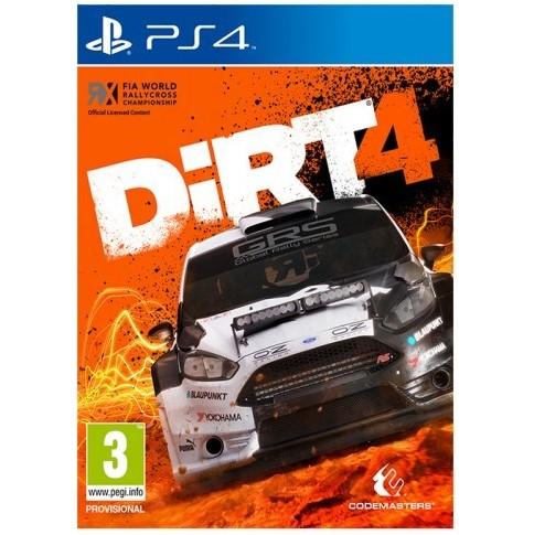 Codemasters PlayStation 4 Dirt 4 předobjednávka