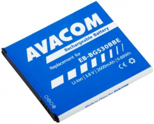 Avacom pro Samsung Galaxy Grand Prime, Li-Ion 2600mAh (náhrada EB-BG530BBE) modrá
