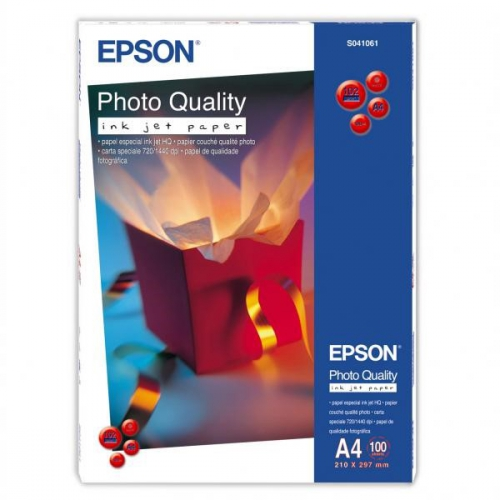 Epson Photo Quality A4, 102g, 100 listů