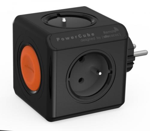Powercube Original Remote, 4x zásuvka černá